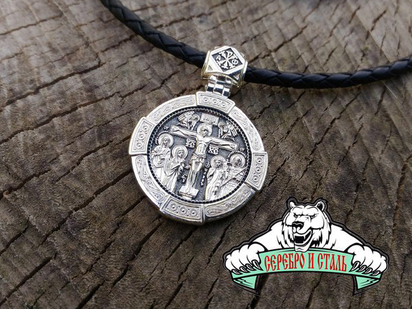 Крест православный мужской