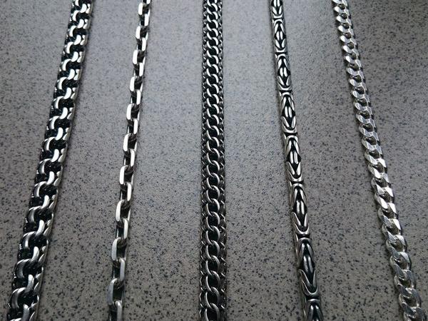 В наличие цепочки и браслеты разных плетений от 30 до 130 грамм