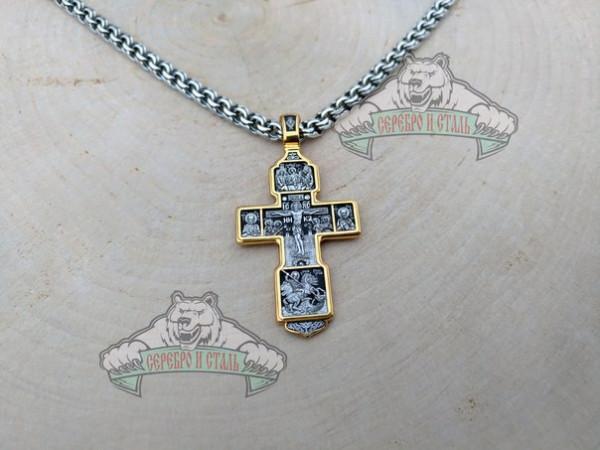 Крест с иконами.